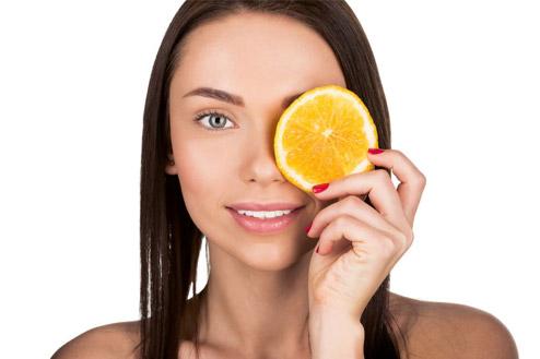 beneficii vitamina c - frumusete